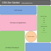 CSS Zen Garden preview tile