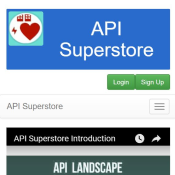 API Superstore preview tile