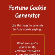 Fortune Cookie Generator preview tile